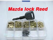 Mazda Car Lock Reed Locking Plate cilindro Reed para reparación de trabajo para Mazda resorte de bloqueo caja de reparación de herramienta Auto del cerrajero