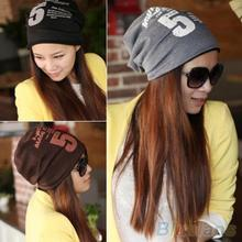 Unisex Women Men Note Five Hip-hop Baggy Beanie Hat Cool Dance Cotton Blend Cap
