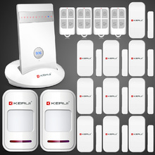 KR-G15 Wireless GSM Alarm System Auto Dial home Secure Burglar Alarm Alarm Systems Security Home IOS Android iPhone APP Control(China (Mainland))