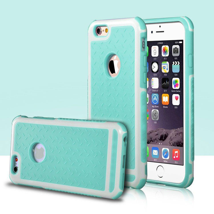 For Apple iPhone Case Rubber TPU Silicone Shockproof Back Cover Case For iPhone 6  6S / Plus / SE and 5 5s Anti-knock Phone Case
