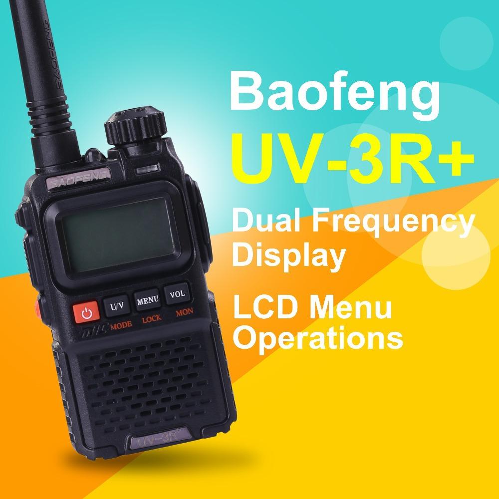 Baofeng Mini вкладыш радио уф-3r + переносной два способ радио уф-3r + большой рация