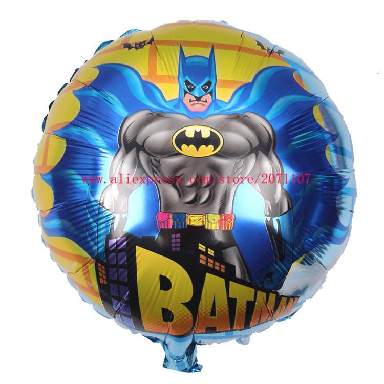 Lucky 5pcs/lot 18inch Batman Balloon Mylar Foil Balloons Super Hero Helium Ballons Party Wedding Decoration Globos Birthday Gift(China (Mainland))