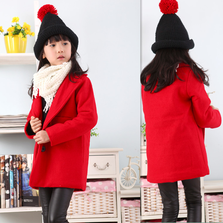 Buy Red Fashion Women Girl Thicken Hoodie Coat Outerwear Jacket