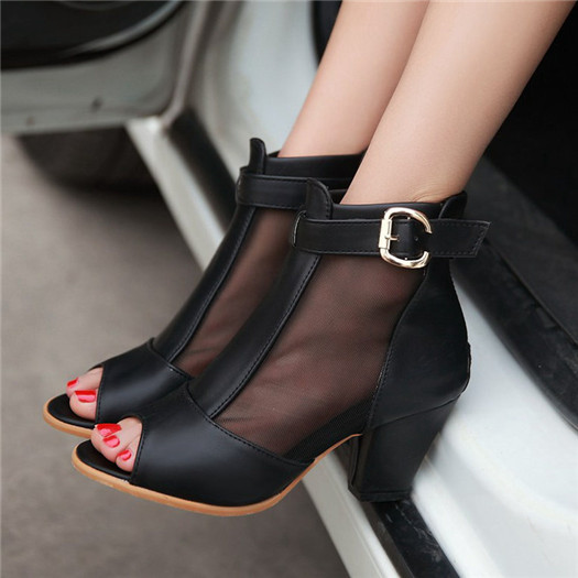New Fashion Genuine Leather Dress Wedding Shoes Woman Heel Sexy For Party Metal Cap Pointed Toe High Heels 2016 Stilettos<br><br>Aliexpress