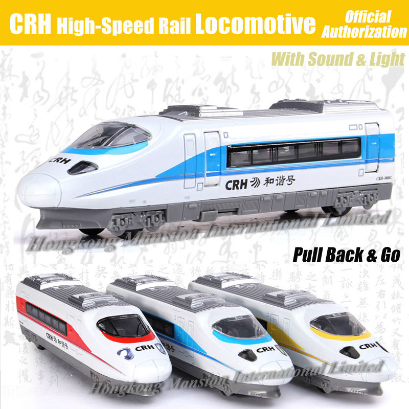 1:32 Scale Luxury Diecast Alloy Metal Car Model For CRH Railway High-Speed Rail Locomotive Train Collection Model Pull Back Toys(China (Mainland))