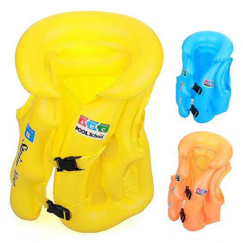 professional life vest child swimwear inflatable clothing thickening(China (Mainland))