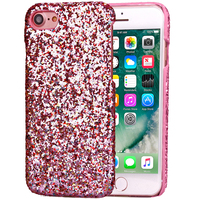 10pcs Bling Hard Back Cover For iPhone 7 7 Plus Cell Phone Shell Diamond Case For iPhone 7 7Plus Colorful Phone Case Accessories