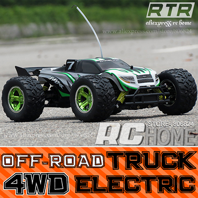 1:12 Scale remote control toy car Electric Racing 4WD Rc monster truck Offroad trucks ready to run 27/40Mhz radio system(China (Mainland))