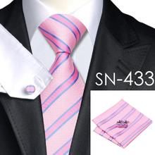 2016 Fashion 40 Styles Gravata Tie Hanky Cufflink Sets 100% Silk Neckties Ties for Mens Business Wedding Party Free Shipping(China (Mainland))