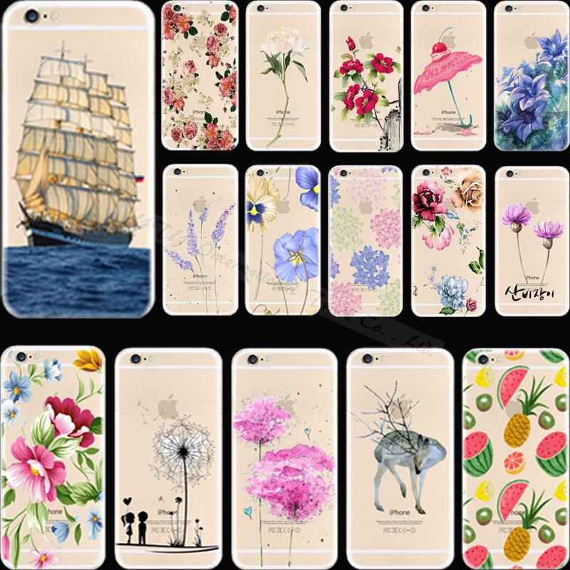 Cover For Apple iPhone 5C iPhone5C Case Cases Phone Shell Soft TPU Silicon Varied Painted Girl Fresh Elegance POU KRD CCW WAT(China (Mainland))