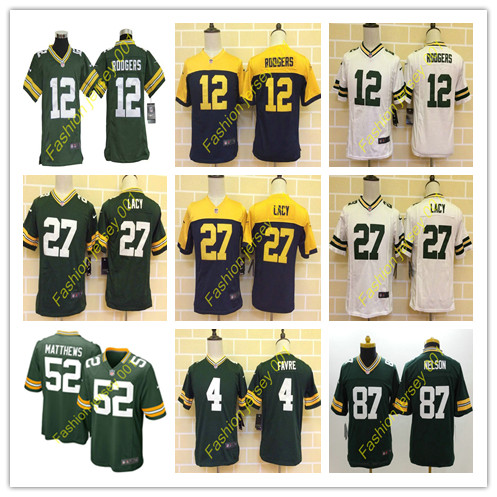 2016 NO1 Youth's New arrival @1 Style Green Bay @1 Packers @1 free shipping Jer Stitched logo,ship out fast(China (Mainland))