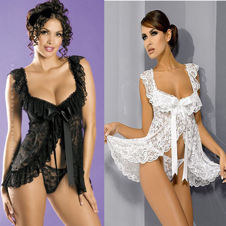 Europe and the United States Rose Lace Lingerie Sexy cardigan on aliexpress goods manufacturers8064(China (Mainland))