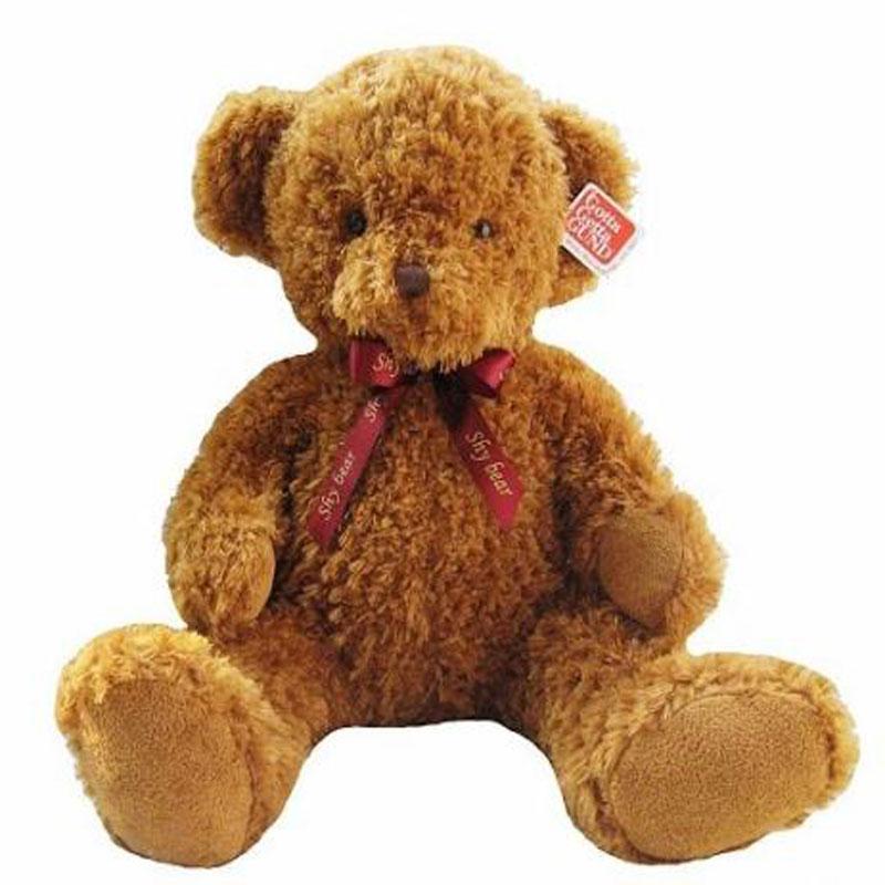 50CM Kawaii Shy Teddy Bear Plush Toy Stuffed Bears Soft Kids Toys Baby Huggable Dolls Children Girls Valentine Love Gifts HT3745(China (Mainland))