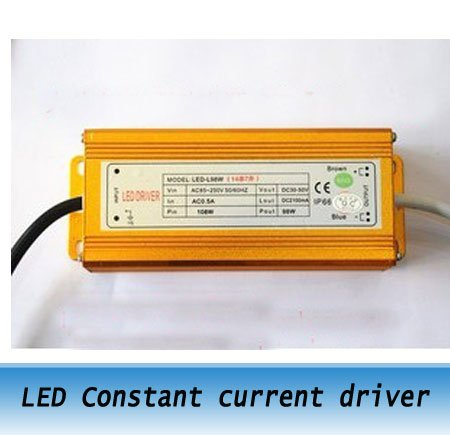 98W LED constant current drive power supply / high power LED driver for led street lights