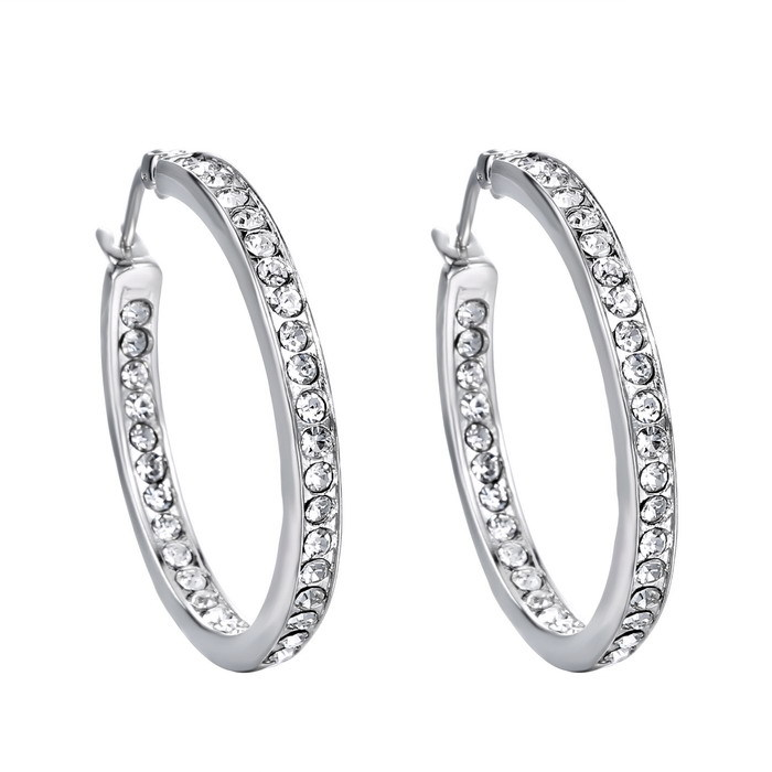 Luxury 2015 Gold Plated Hoop Earrings Basketball Women Wives Earring