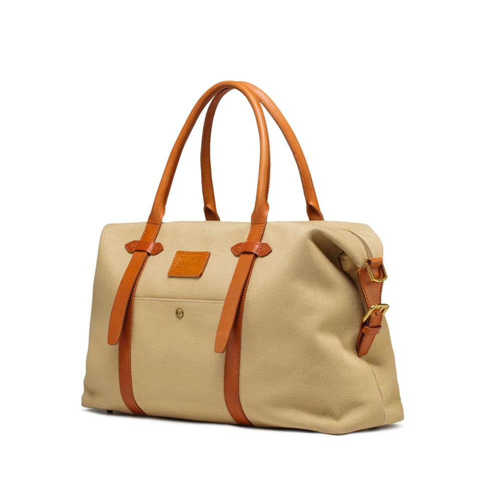 Crossbody totes boston canvas vintage bag, light, big capacity, handbag, waxed leather<br><br>Aliexpress