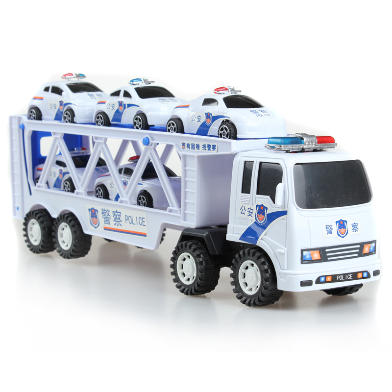 Small Truck Police Car Toy Police Super Police Car Wagon Inertia Car Educational Toy Diecasts & Toy Vehicles Creative Kid Toy(China (Mainland))