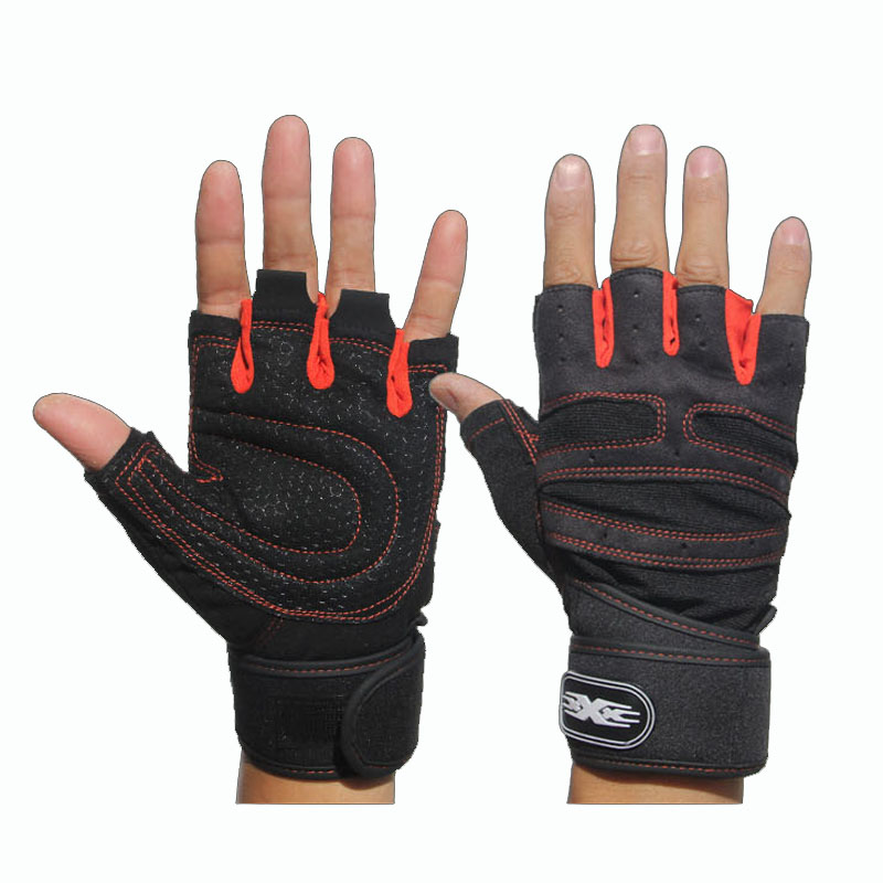 Free Shipping Weight Lifting Glove Sports Running Exercise Training Gym Gloves Multifunction Fitness Gloves for Men