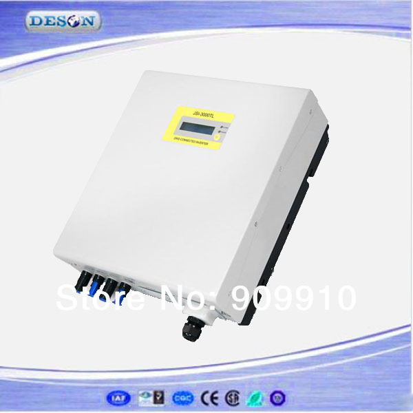 High performance on grid inverter , 100-550Vdc to 230VAC transformer-less 3600W single phase type pv grid tied inverter(China (Mainland))