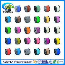 best price!! 28 color 3d printer filaments PLA/ABS 1.75mm/3mm 1kg/2.2lb Plastics Consumables For MakerBot RepRap UP Mendel