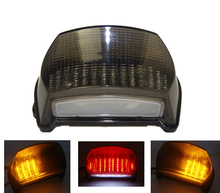 For KAWASAKI Ninja ZX7R ZX-7R 1996 1997 1998 1999 2000 2001 2002 2003 Rear Tail Light Brake Turn Signals Integrated LED Light(China (Mainland))