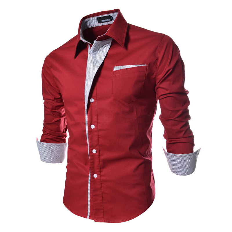 Mens button up shirts long sleeve is shirt for Cool long sleeve button up shirts