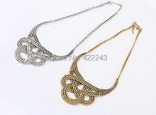 Hot necklace fashion party chunky luxury choker statement necklace women(China (Mainland))