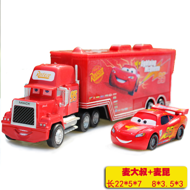 Hot selling cartoon car Pixar Car Truck McQueenes die casting 1:55 metal toy car model children's toy Christmas gift X86(China (Mainland))