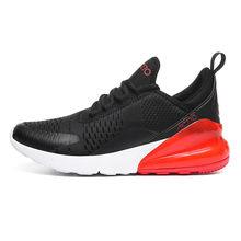 Sapatas do esporte dos homens 2019 marca tênis de corrida respirável zapatillas hombre deportiva 270 de alta qualidade calçados masculinos trainer(China)