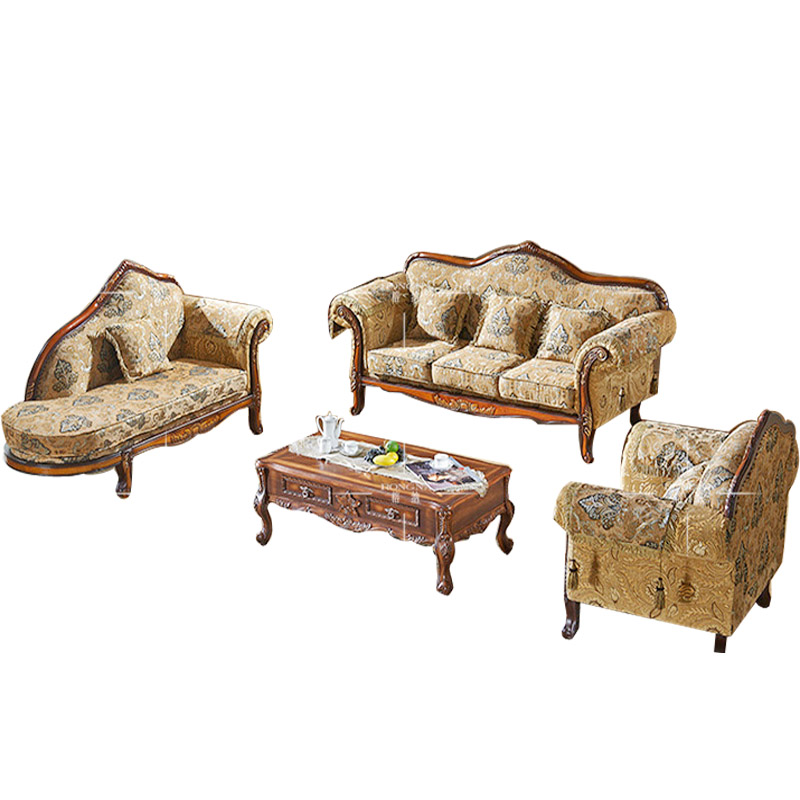 European Neo classical Sofa combination living room Sofa  : European Neo classical Sofa combination living room Sofa fabric Sofa chaise American Retro from www.aliexpress.com size 800 x 800 jpeg 141kB