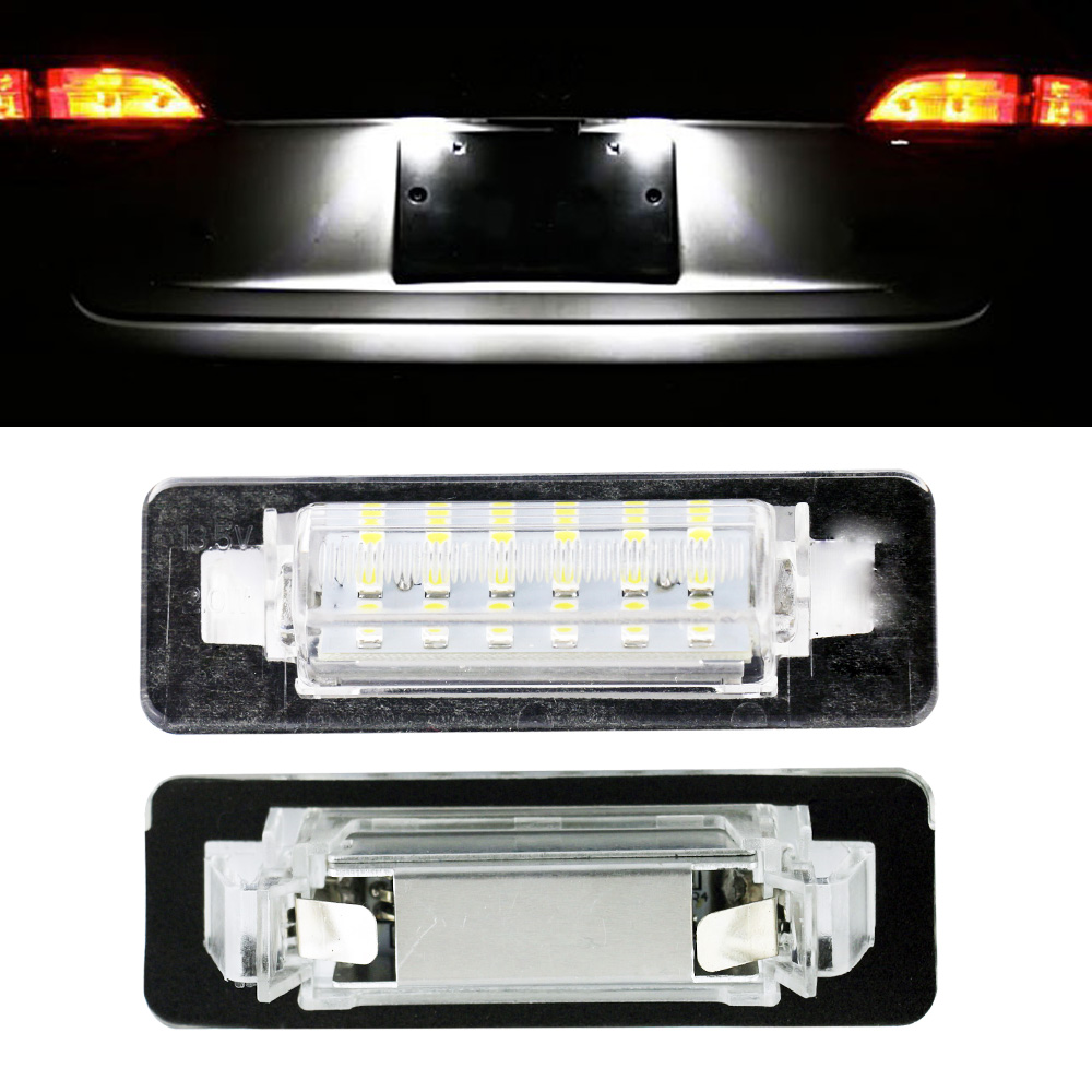 free shipping 2x w210 led number license plate lights interior light auto accessories car. Black Bedroom Furniture Sets. Home Design Ideas