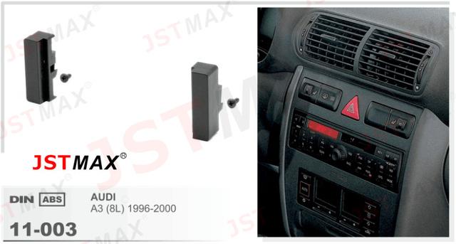 jstmax car fascia panel frame for audi a3 8l 1996 2000. Black Bedroom Furniture Sets. Home Design Ideas