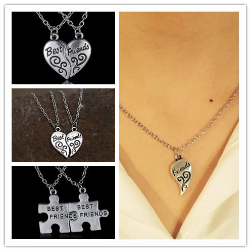 Broken Heart Couples Necklace Necklace Broken Heart