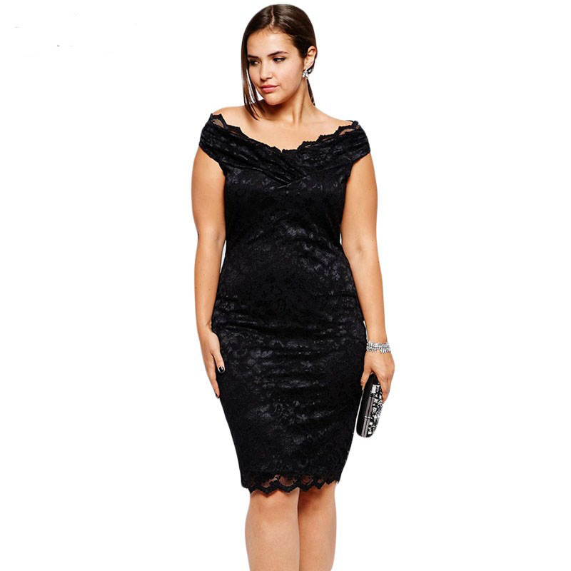 New 2014 Spring Summer New Women Casual Slim Lace Beading Dress Knee