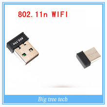 Lower price 150Mbps USB Wireless Adapter WiFi 802.11n 150M Network Lan Card for PC Laptop Raspberry Pi B Plus or Raspberry pi 2(China (Mainland))