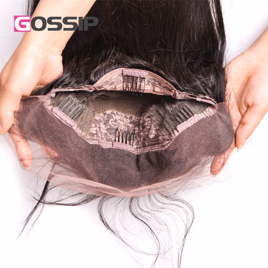 Glueless Full Lace Wigs With Baby Hair Straight Human Hair Lace Front Wig Brazilian Full Lace Wigs Lace Front Human Hair Wigs