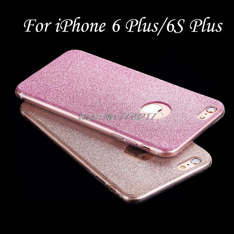New Design Soft Bling TPU CaseFor iPhone 6S Plus Luxury Ultra thin Cover For iPhone 6 Plus/6S Plus 5.5 Coque Funda Capinha Capa(China (Mainland))