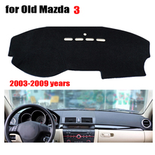 Car dashboard covers mat for Old MAZDA 3 2003 to 2009 Left hand drive dashmat pad dash covers Instrument platform accessories(China (Mainland))