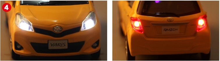 136 Car Model For TOYOTA Yaris (13)