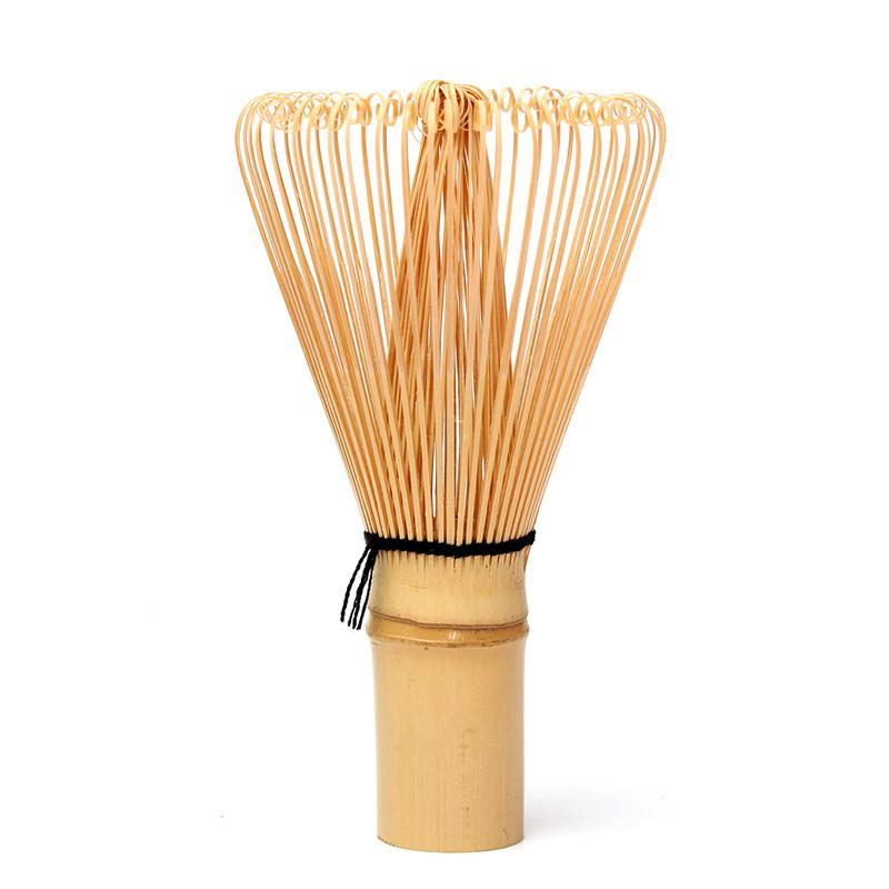 Продажа прочный Японская церемония бамбука Тясэн 64 матча порошок венчик зеленый чай Тясэн кисть для новых 11x6cm матча