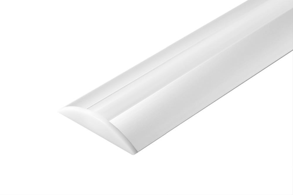 20m (20pcs) a lot, 1m per piece, Anodized diffuse cover led strip profile aluminum SN5208(China (Mainland))