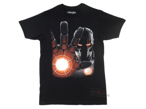 Iron Man Movie 3 Red Heat Marvel Comics Licensed Adult Shirt S-3XL Free Shipping(China (Mainland))