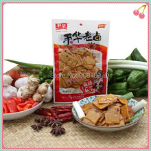 Dried tofu 450g (90g * 5 bags) Rich in protein snack chinese food spicy nutrition products soybean Grain Products