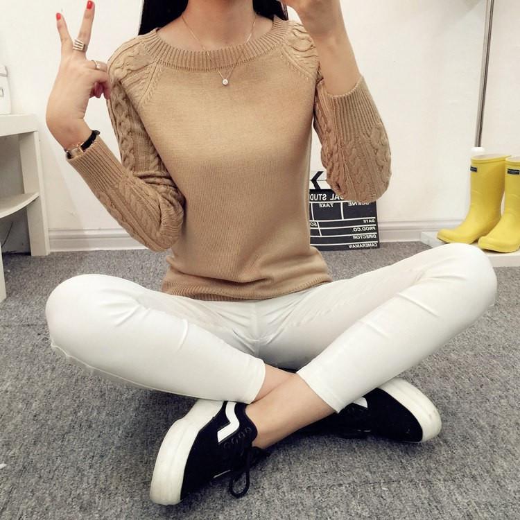 Женский пуловер 2016