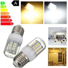 Buy LED Light Bulb E27 5W 27 LED 5730 SMD Super Bright Energy Saving Lamp White Warm White Corn Lights Spotlight Bulb DC12V 420Lm for $1.56 in AliExpress store
