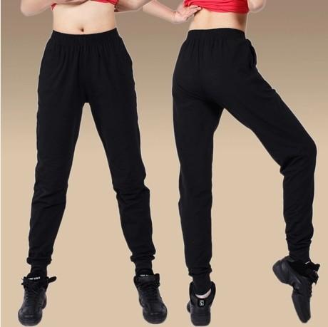 Free shipping S~ 3XL plus size unisex Casual Jogger Dance Sport wear  jogger Harem Pants Slacks Trousers Sweatpants yoga pants