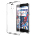 100 Original SGP Oneplus 3 Ultra Hybrid Case Crystal Clear back Panel TPU Frame Style Phone