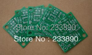5 pcs 2 layer prototype PCB boards, for your own design