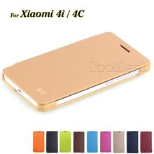Xiaomi Mi4C Case Luxury PU Leather Flip Cover for Xiaomi M4i Mi 4i X9 / Mi4c Mi 4C Mobile Phone Cases