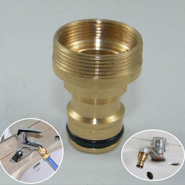 Faucet Quick Connector Tap Watering Equipment Solid Brass Adaptor Garden Hose Pipe Original
